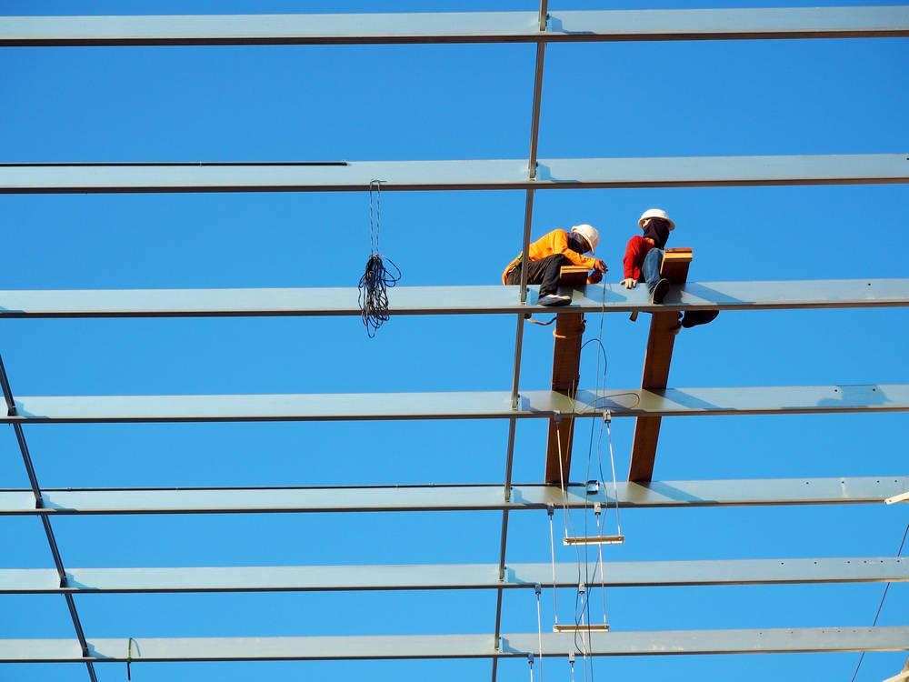 Trabajos en altura, sólo los más capacitados pueden realizarlos
