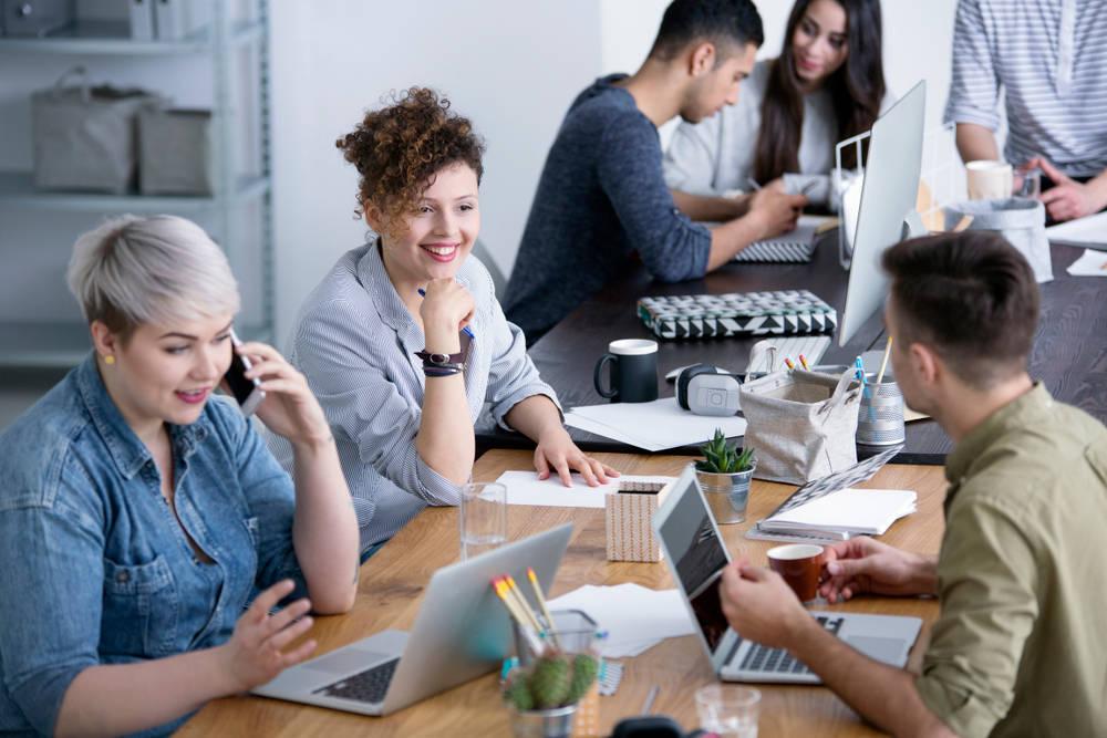 Un espacio de trabajo flexible y cómodo